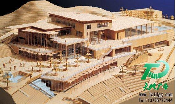 木质建筑模型制作方法与要点