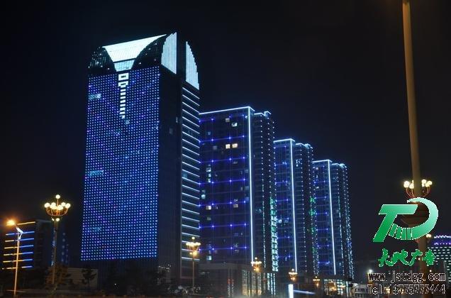 泰州大型楼宇亮化工程